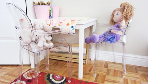 Lou Lou Ghost Children Armchair Philippe Starck