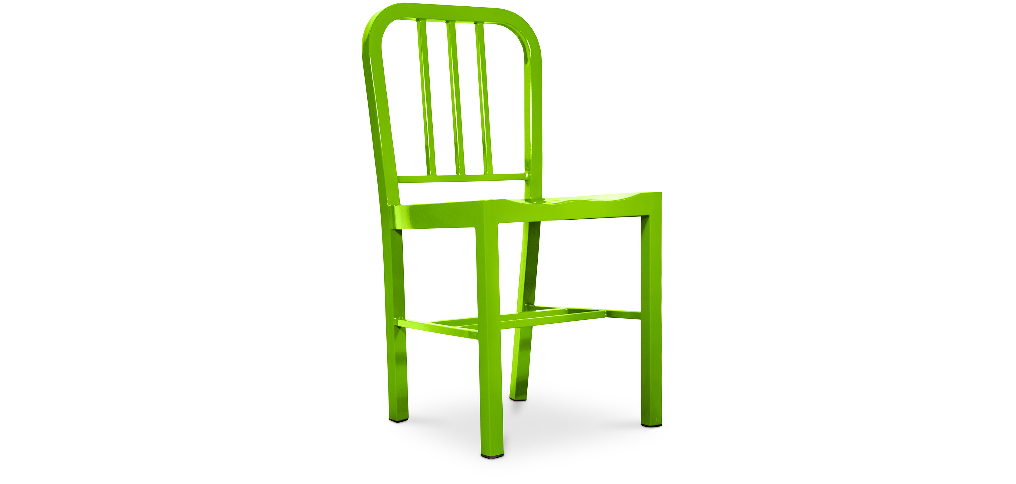 Navy style design chair steel for Steel chair design