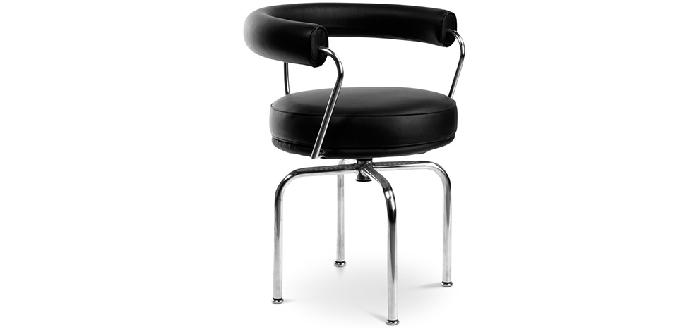 LC7 chair Charles le Corbusier Faux Leather