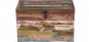 Buy Vintage Recycled wooden trunk Multicolour 58498 - prices