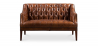 Buy Tufted premium leather sofa Brown 58569 - in the UK