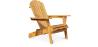 Buy Adirondack Style Garden Chair - Wood Natural wood 59415 at MyFaktory