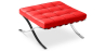 Buy City Ottoman - Premium Leather Red 58377 with a guarantee