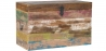 Buy Vintage Recycled wooden trunk Multicolour 58498 - in the UK