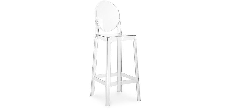Buy Victoria bar stool - 75cm Transparent 58924 - in the UK