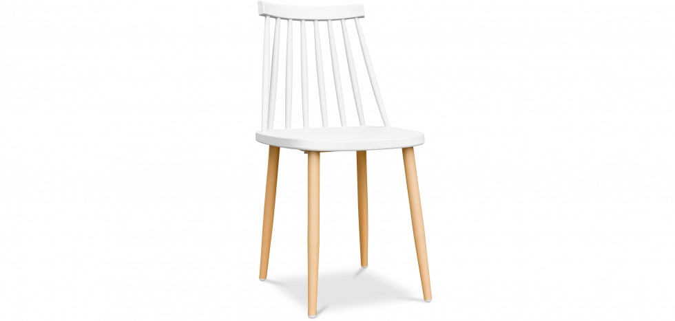 Buy Scandinavian style chair  White 59145 - in the UK
