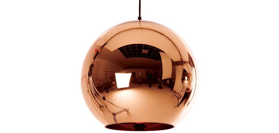 Buy Copper lamp Tom Dixon Doyle metal  Bronze 49386 - in the UK