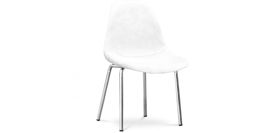 Buy Diana Chair - Full Fabric White 59386 - in the UK