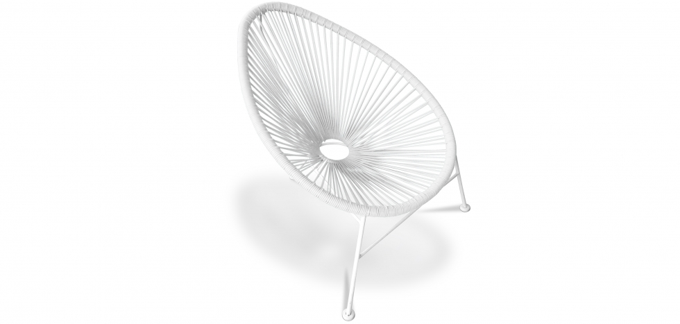 Buy Acapulco Chair white Legs White 58295 - in the UK