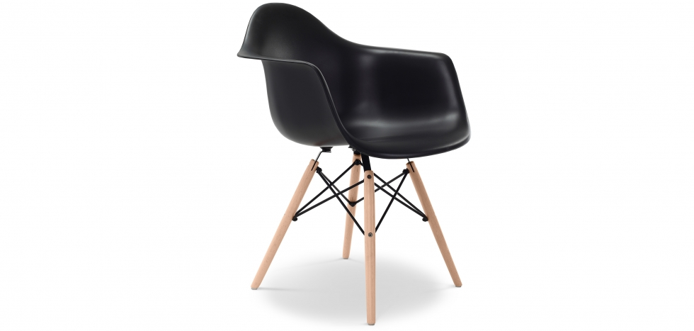 Darwick Chair - PP Matt - Black