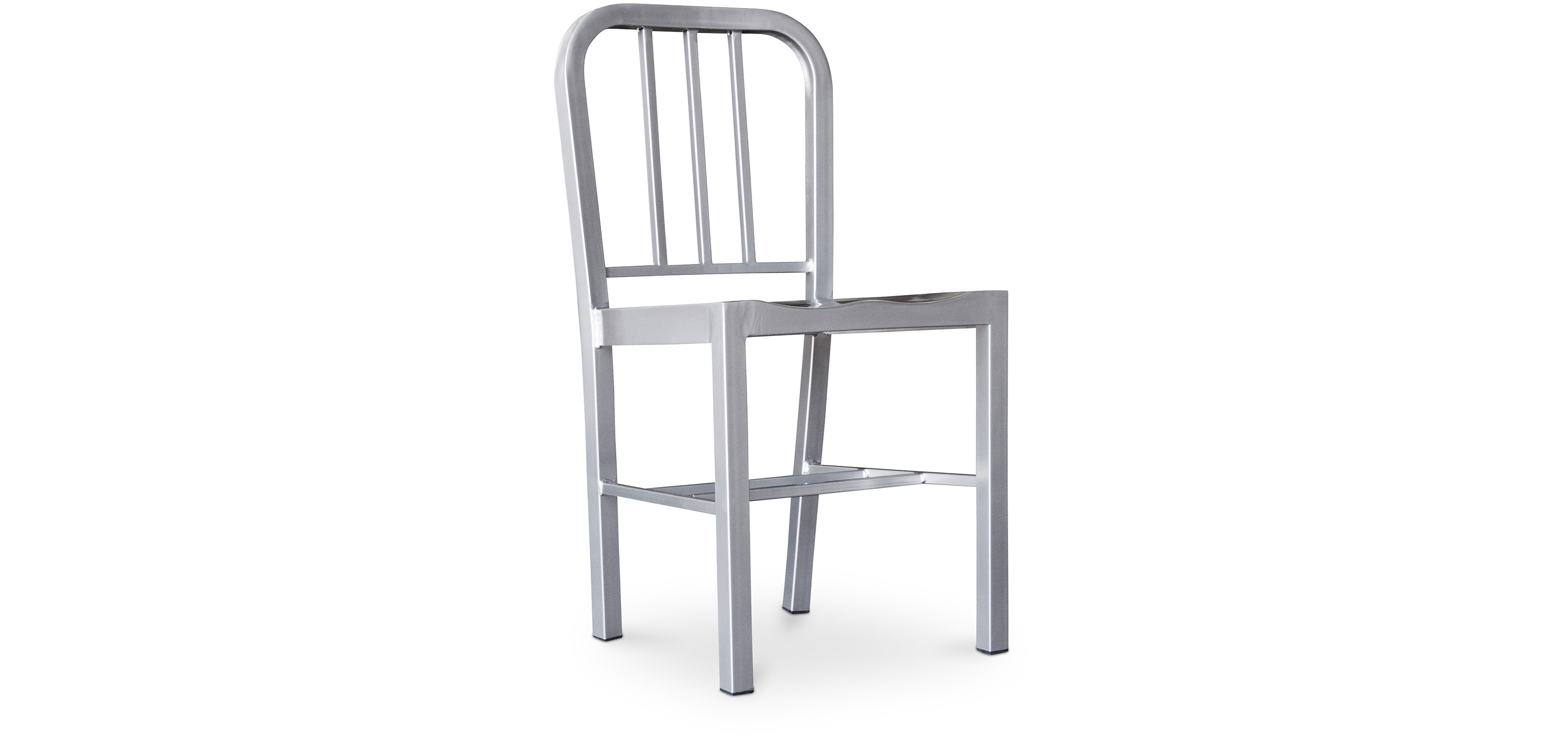 Buy  Navy chair steel inspiration Emeco - Style Silver 50141 - in the UK
