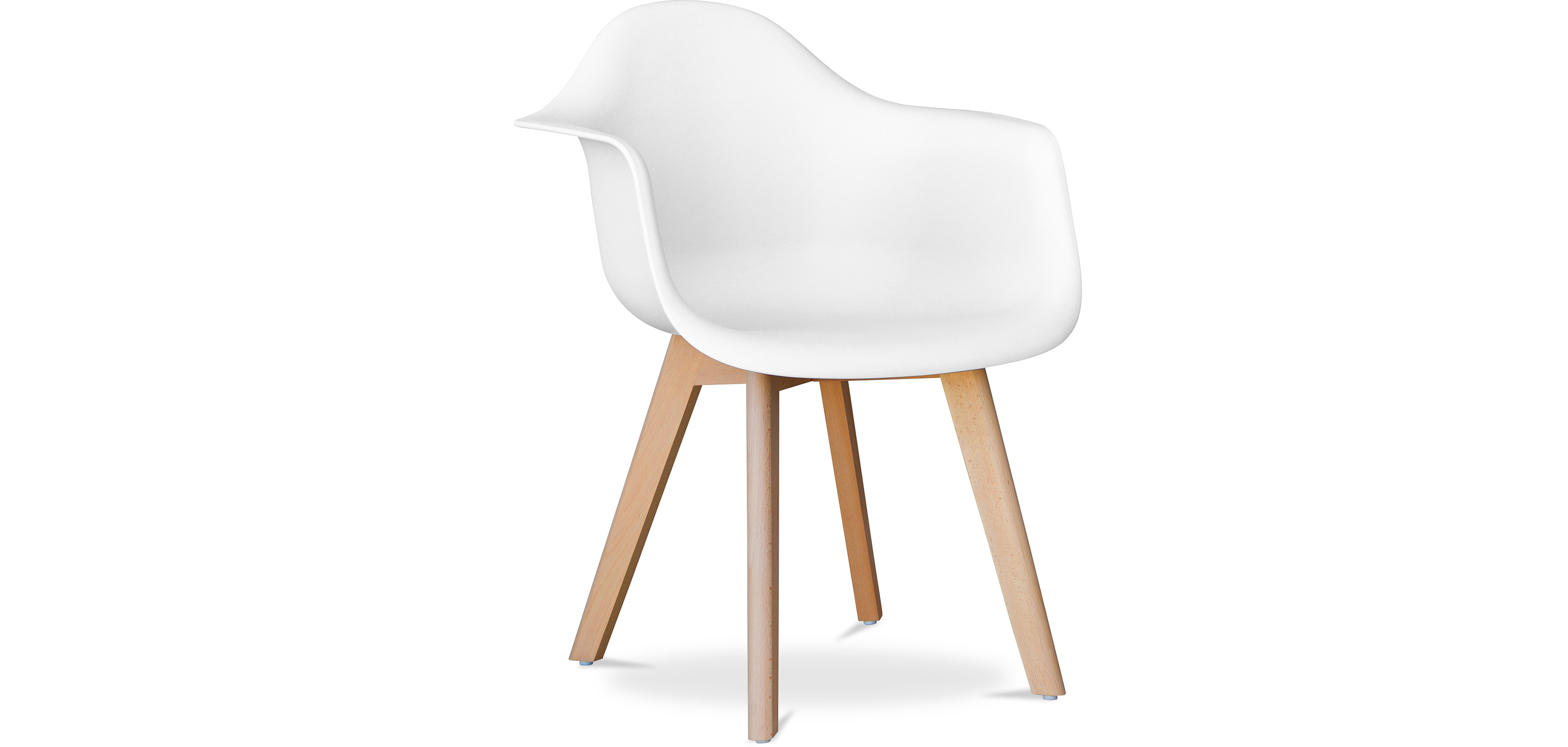 Buy Design Dawood chair White 58595 - in the UK