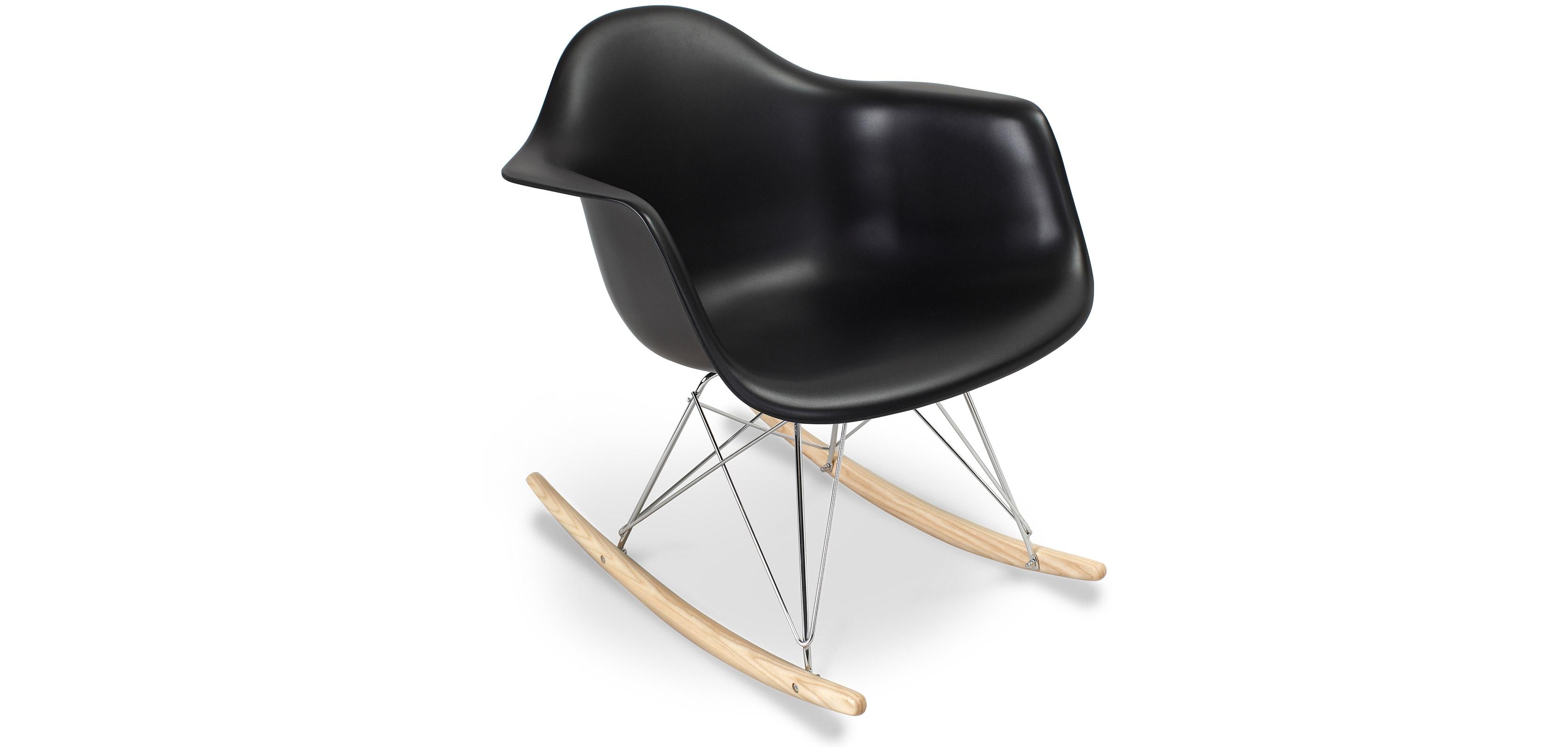 Rarwick Rocking Chair - PP Matt - Black